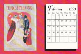 February 1993 Limited Editon Calendar Card - Astronomy