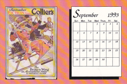 September 1993 Limited Editon Calendar Card - Astronomy