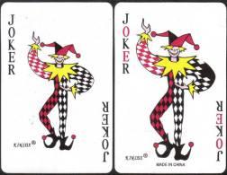 #207 Clown Malaysia 2 Playing Card Joker Jeu De Cartes - Cartes à Jouer Classiques