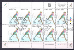 Namibia Birds 1997 Used Sheet - Unclassified