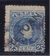SpanishMorocco1908: Edifil28 Used Cat.Value63Euros - Spanish Morocco
