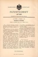Original Patentschrift - A. Rose In Thale A.H. , 1894 , Kerzenhalter Für Christbaum , Weihnachtsbaum , Weihnachten  !!! - Decorative Items