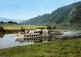 02831 - Motorschiff KARLSHAFEN Auf Der Weser - Paquebots