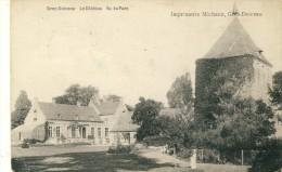 Grez-Doiceau - Le Château Vu Du Parc -1912 ( Voir Verso ) - Grez-Doiceau