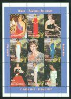 Burkina Faso - 1998 Diana Kleinbogen (1) MNH__(THB-2324) - Burkina Faso (1984-...)