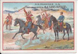 CHROMO - Chicorée Extra LA SANS RIVALE - Spahis - Manoeuvres Et Fantasia - Tea & Coffee Manufacturers