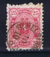 Finland: 1875, Mi 17 Ab  Anilinrot - Used Stamps
