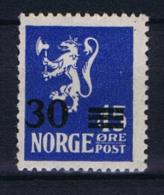 Norway: 1927 Mi Nr  125 A  MNH/** - Noorwegen
