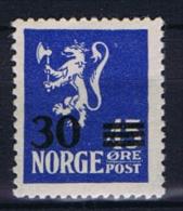 Norway: 1927 Mi Nr  125 A  MNH/**