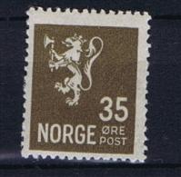 Norway: 1927 Mi Nr  128 A  MH/*