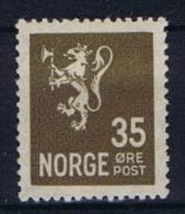 Norway: 1927 Mi Nr  128 A  MH/* - Noorwegen