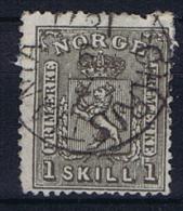 Norway: 1867, Mi   11 Used