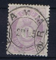 Norway: 1867, Mi  19 Used