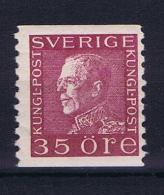 Sweden  1921 , Mi  190 II  MNH/**