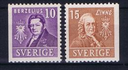 Sweden  1939 , Mi 272 - 273 MNH/**
