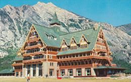 Prince Of Wales Hotel Waterton Lakes Alberta Canada