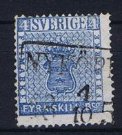Sweden 1855  , Mi 2 C Used - Sweden