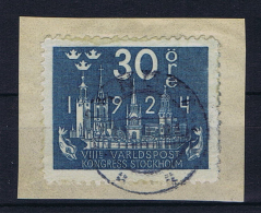 Sweden 1924  , Mi 149 W B  Used - Gebruikt