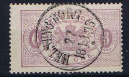 Sweden Dienst , Mi 4 B  Used - Dienstzegels