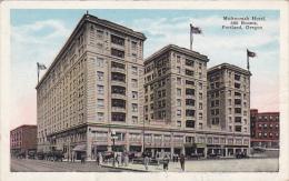 Multnomah Hotel Portland Oregon
