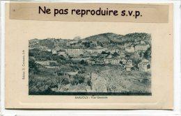 - BARJOLS - Vue Générale, En Avril 1911, Charmante, écrite, Cliché Peu Courant, TBE, Coins Impeccables, Scans. - Barjols