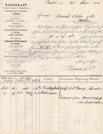BASEL-21-5-1884-DANZAS-CO MMISSIONAIRES-EXPEDITEURS - Schweiz
