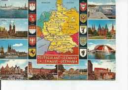 DEUTSCHLAND  GERMANY  GERMANIA  L`ALLEMAGNE   OHL - Landkaarten