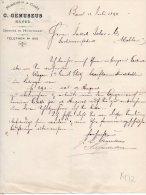BASEL-12-7-1894-C.GEMUSEU S-DEPOTS IN HUNINGHEN-DEPOTS IN HUNINGEN - Schweiz