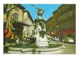 Cp, 13, AIx-en-Provence, Fontaine Pascal, écrite - Aix En Provence