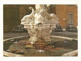 Cp, 13, AIx-en-Provence, Fontaine Des Quatre Dauphins, Voyagée - Aix En Provence