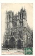 Cp, 80, Amiens, La Cathédrale, Voyagée - Amiens