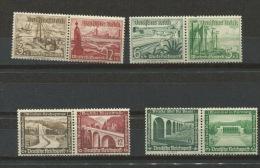 Germany 1936-7 Combination MNH/MH - Germany