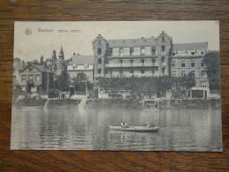 WAULSORT Grand HOTEL - Anno 19?? ( Reclamekaart HOTEL - Prop. E. REGNIER / Zie Foto Voor Details ) !! - Hastiere