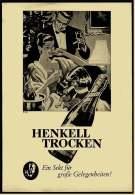 Reklame Werbeanzeige  -  Sekt Henkell Trocken  ,  Ein Sekt Für Große Gelegenheiten  ,  Von 1956 - Alkohol