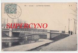 59 NORD N°58 LILLE LE PONT DE CANTELEU TRAMWAY - Lille