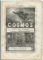 COSMOS -Revue Sciences Et Techniques N° 89 -11 Octobre 1886 -Cristal De Roche -Croiseur Iphigénie -Glytodon -Noir Absolu - Bücher, Zeitschriften, Comics