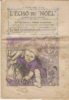 L' ECHO DU NOËL  N° 153 10 Janvier 1909 - Zeitschriften & Magazine