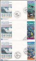 """Switzerland UN Geneva 1992, FDC Cover """"Ocean Life"""" - Genève - Kantoor Van De Verenigde Naties"""