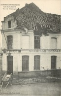 59 ARMENTIERES - BOMBARDEE - CAFE DE LA BOURSE - RUE DE DUNKERQUE - Armentieres