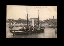 50 - GRANVILLE - Bateau - Arrivée De Jersey - Granville