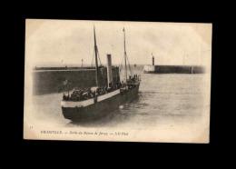 50 - GRANVILLE - Bateau - Départ Pour Jersey - Granville