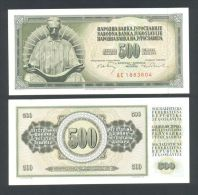 YUGOSLAVIA - JUGOSLAWIEN:  Best Price! Genius TESLA, 500 Dinara 1970 UNC *P-84b *w/security Thread - Yugoslavia
