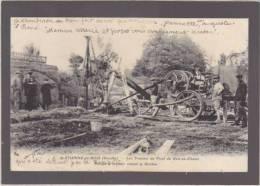 Vendee - Saint Etienne Du Bois - Les Travaux Du Pont Du Gué Au Chaud - Pompe A Moteur Vidant La Riviere - Other Municipalities