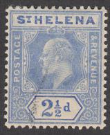 St Helena 1908  21/2d  SG64  Used - Saint Helena Island