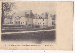 Cpa DINTEVILLE  Chateau Vue Principale - Ed Maillefert - Sonstige Gemeinden