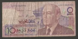 MAROCCO - Bank  Al MAGHRIB - 10 DIRHAMS - Marocco