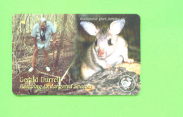 JERSEY - Magnetic Phonecard As Scan/Animal - Ver. Königreich