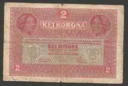OESTERREICHISH-UNGARISCHE BANK (HUNGARY) - 2 KORONA (1917) - Ungheria