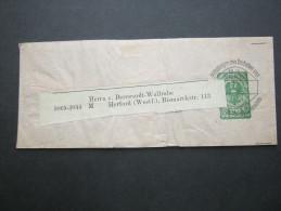 ALPENVEREIN, Streifband 20 Heller  Gebraucht - Stamped Stationery