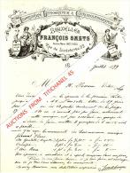 Lettre Illustrée De 1899 - BRUXELLES - FRANCOIS SMETS - Imprimerie-Lithographie-C Hromolithographie - Belgique